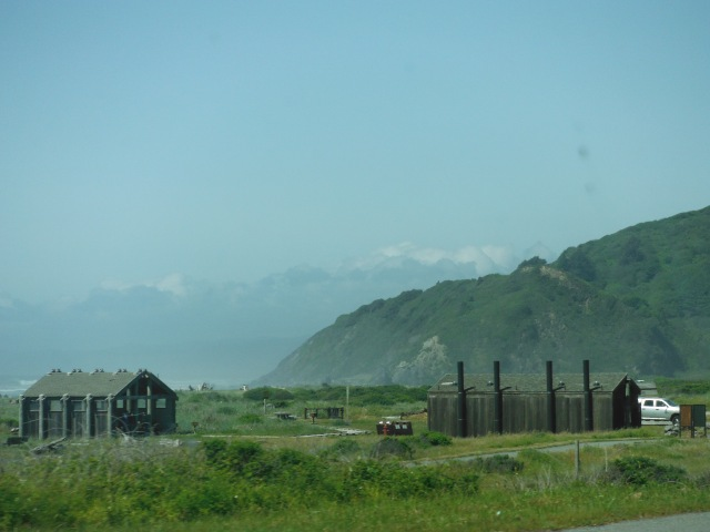 The Pacific Coast, northern California.