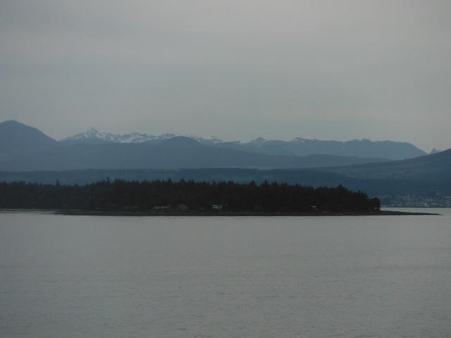 views along the passage
