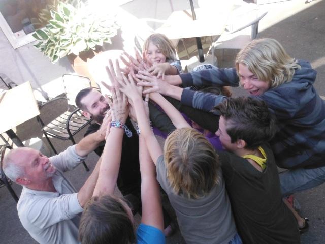 Group High Five