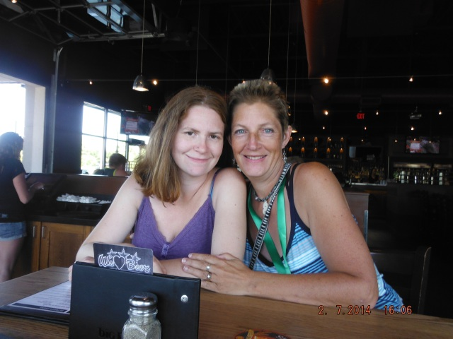 Layne and I (Karen) at Original Joes.