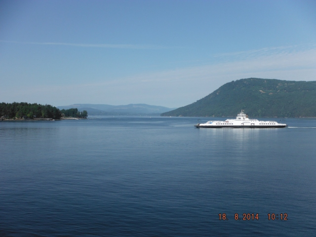 This is the prettiest crossing from Vancouver Island to the mainland, weaving through the southern Gulf Islands.