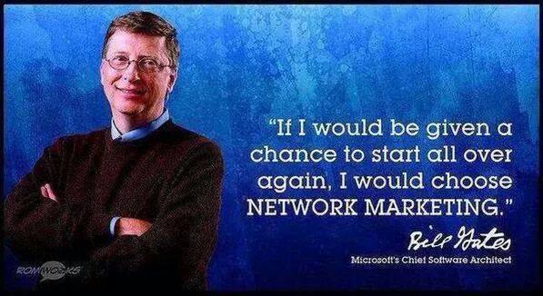 MLM & Bill Gates