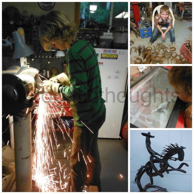 Collage welding