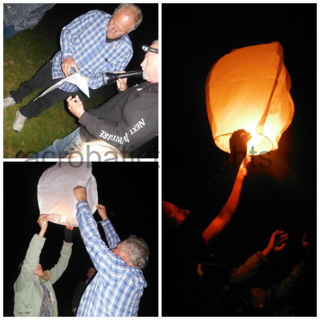 Collage Lantern