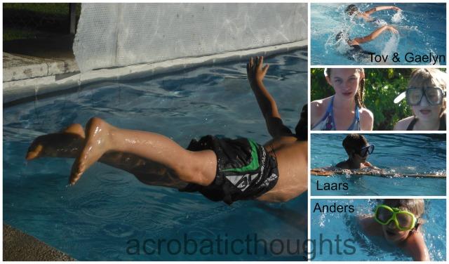 Collage Swim