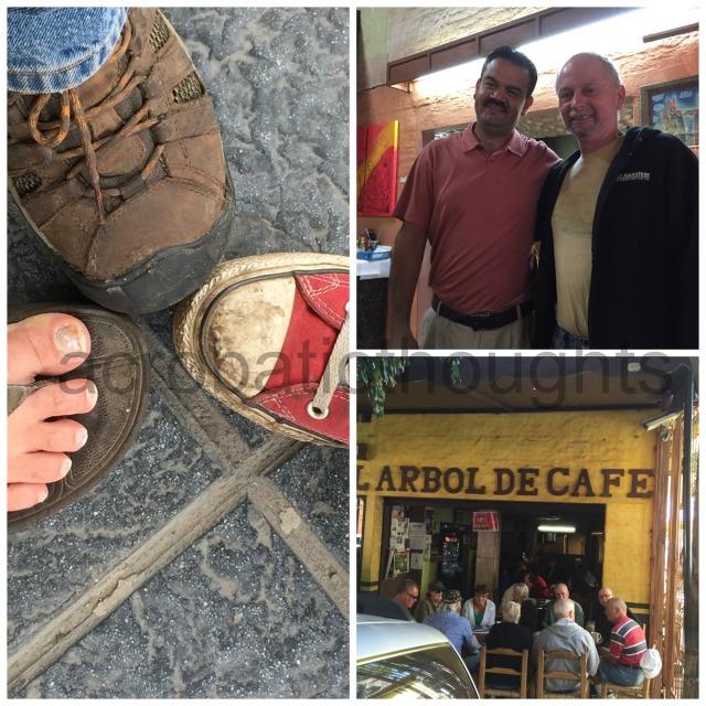 Collage Chapala coffee shop