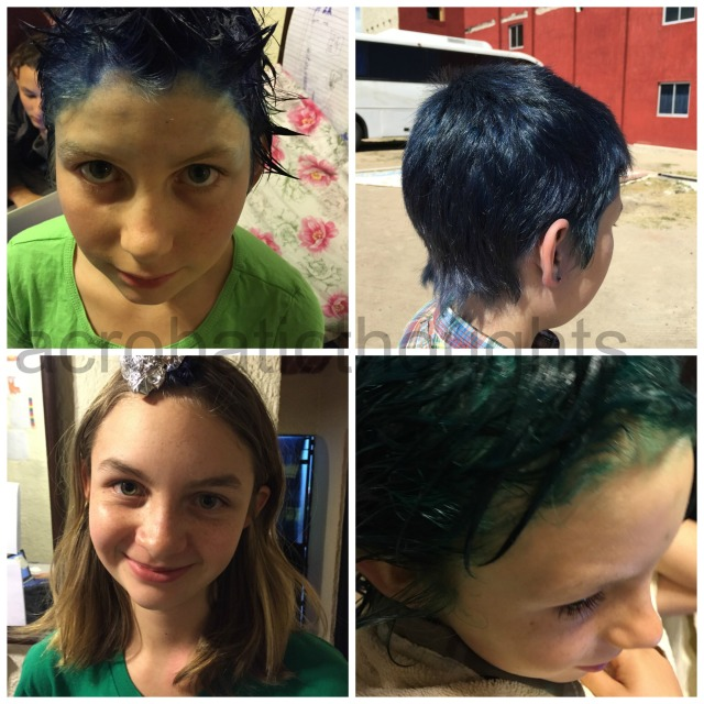 Collage Dye hair