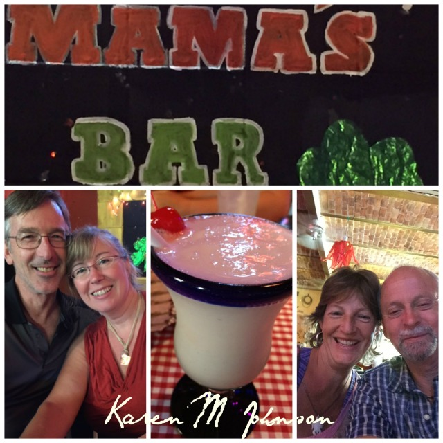 Collage Mama's Bar