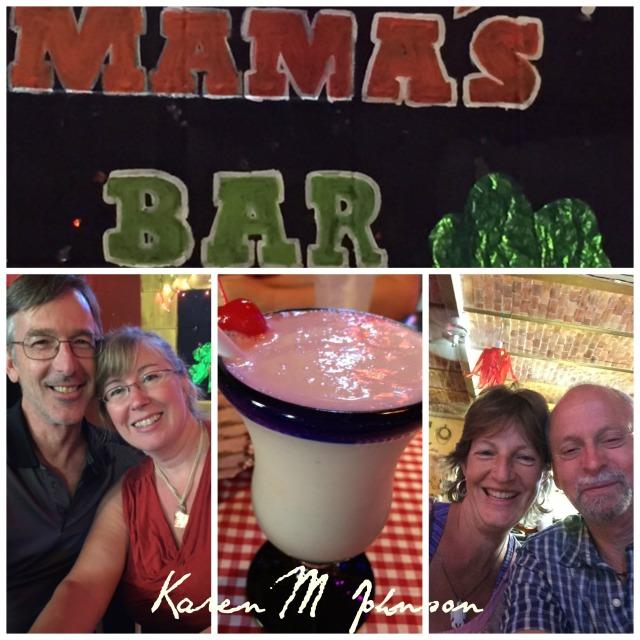 Collage Mama's Bar