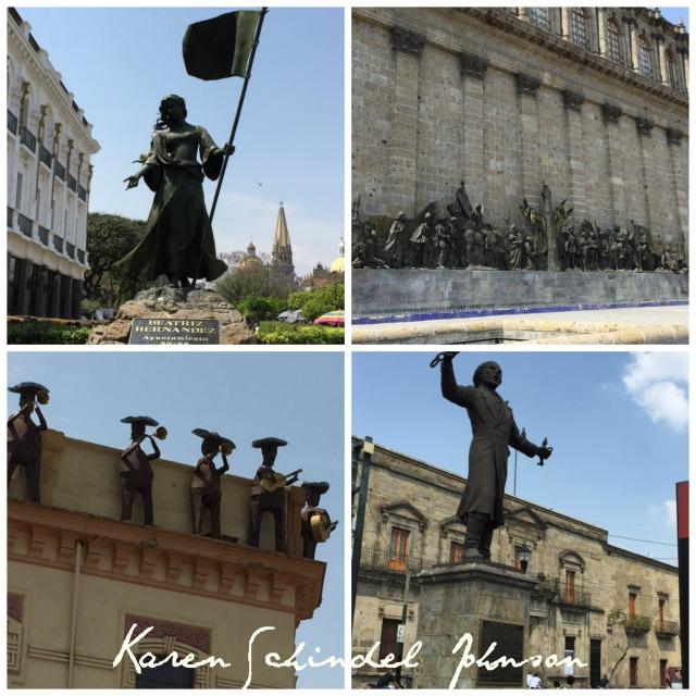 Collage Statue