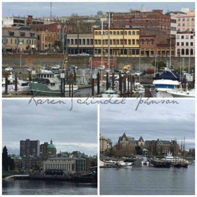 Collage Victoria harbour