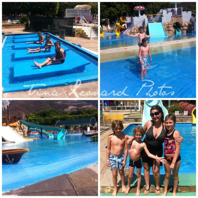 Collage waterpark