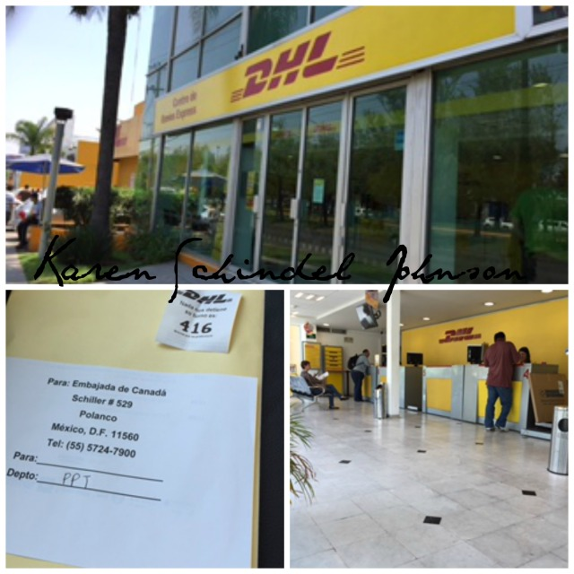 Collage DHL