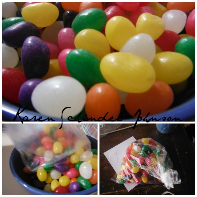 Collage jellybeans