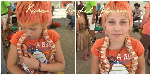 Collage snake
