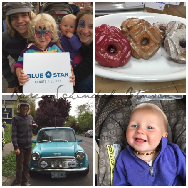 Collage Blue Star Donuts + Coffee
