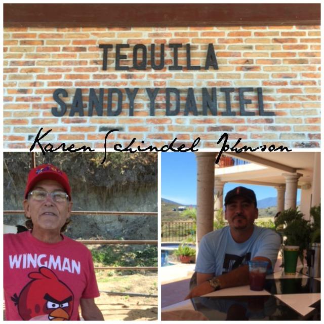 Collage Sandy y Daniel