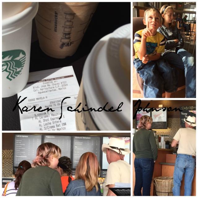 Collage Starbucks