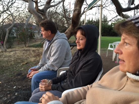 Sunrise with Terry & Barbara